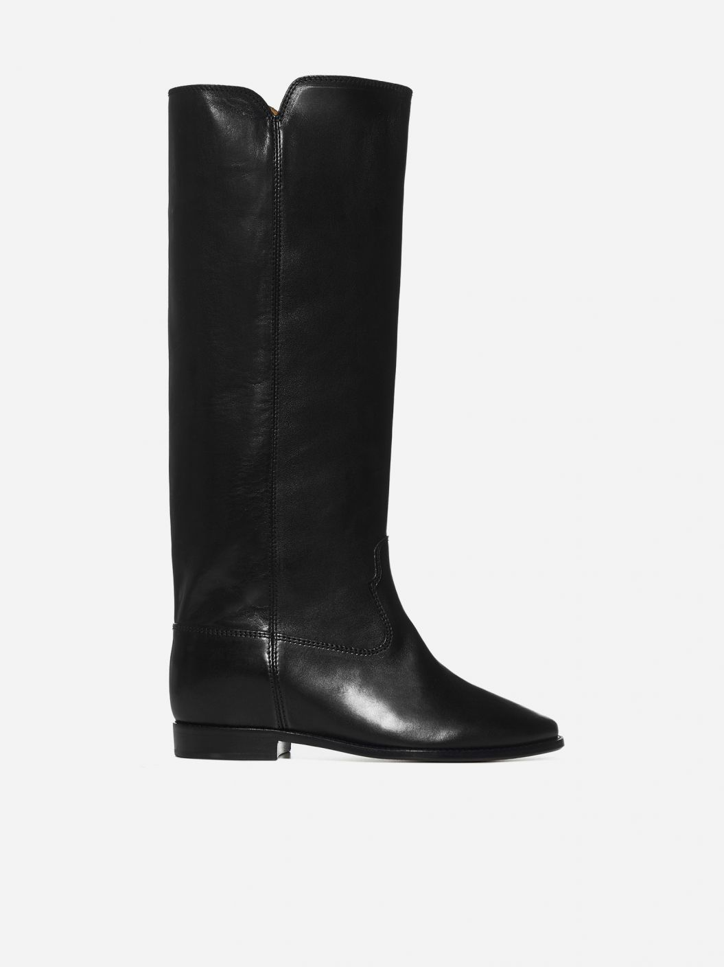 Chess leather boots