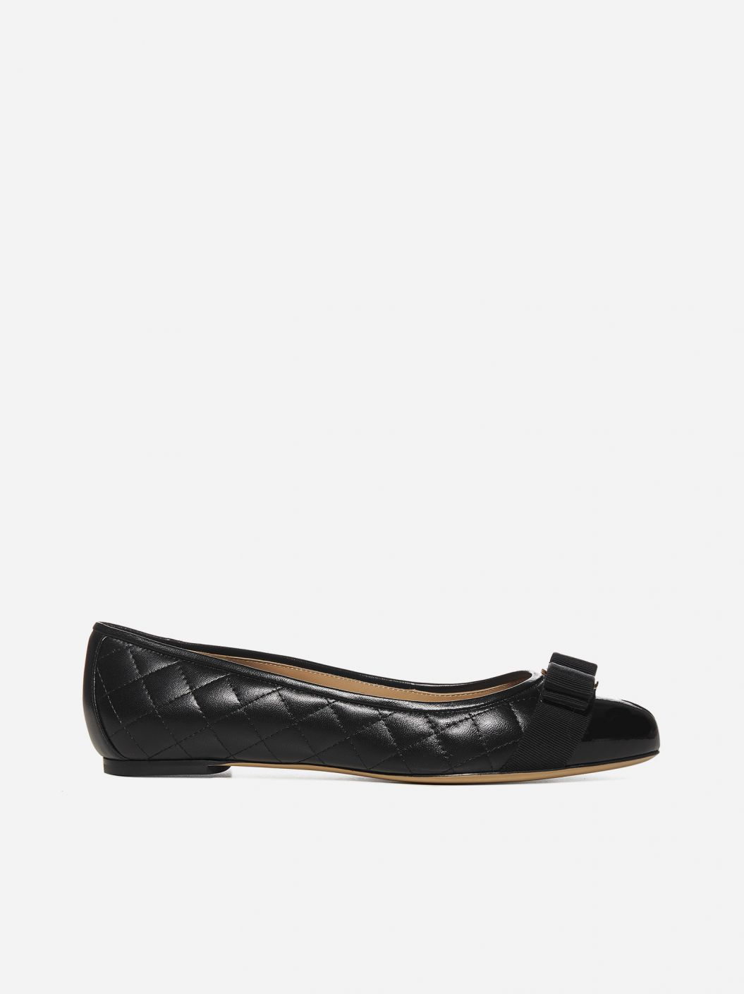 Varina quilted nappa leather ballet flats