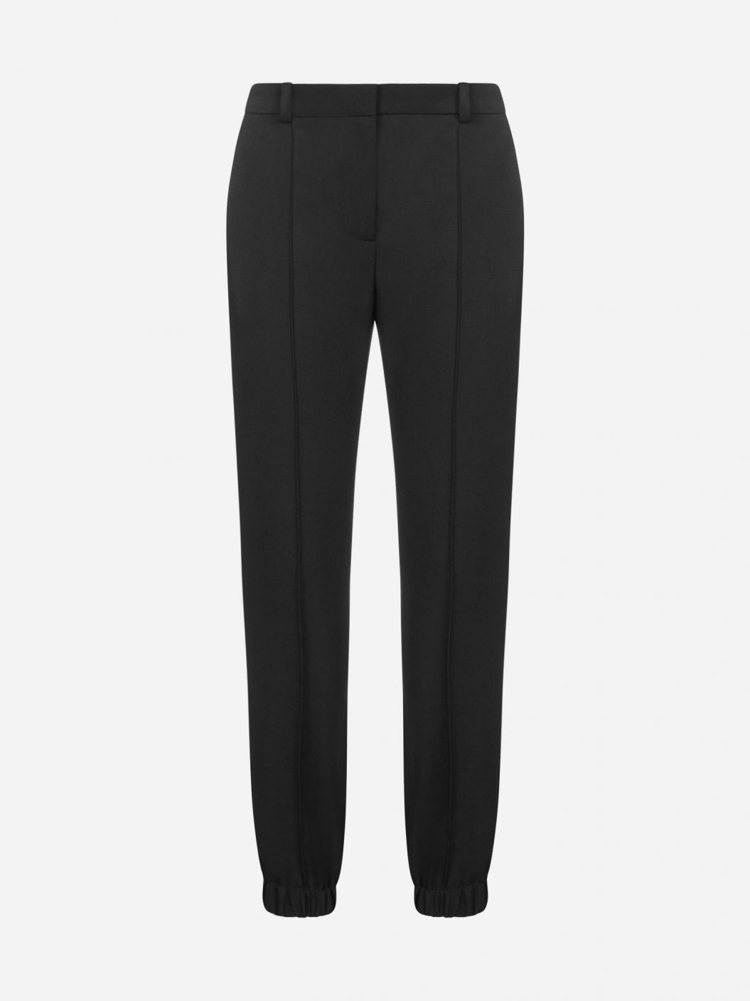 Tailored jogger wool trousers