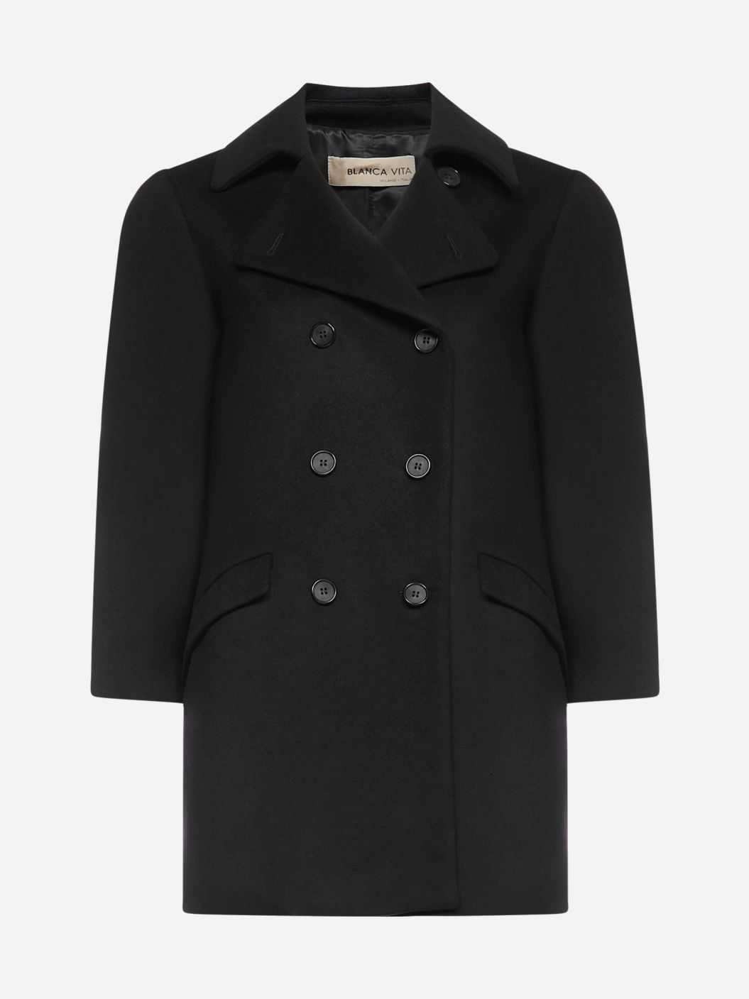 Cambria wool and cashmere coat