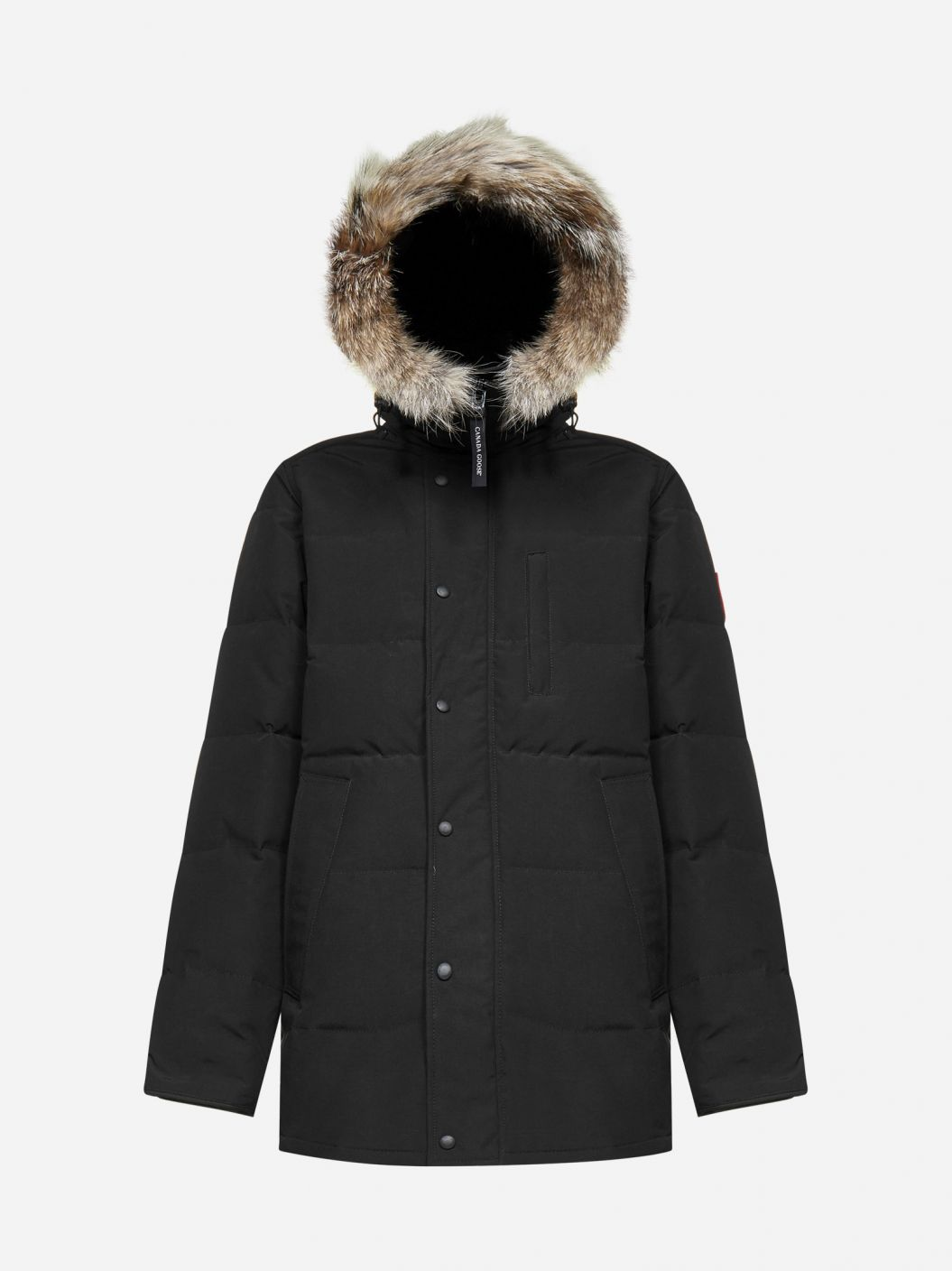 Carson hooded quilted nylon parka