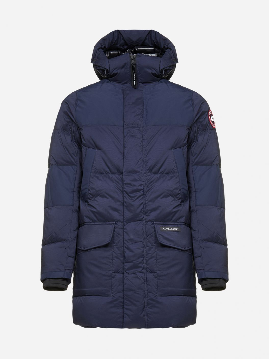 Armstrong hooded quilted nylon parka