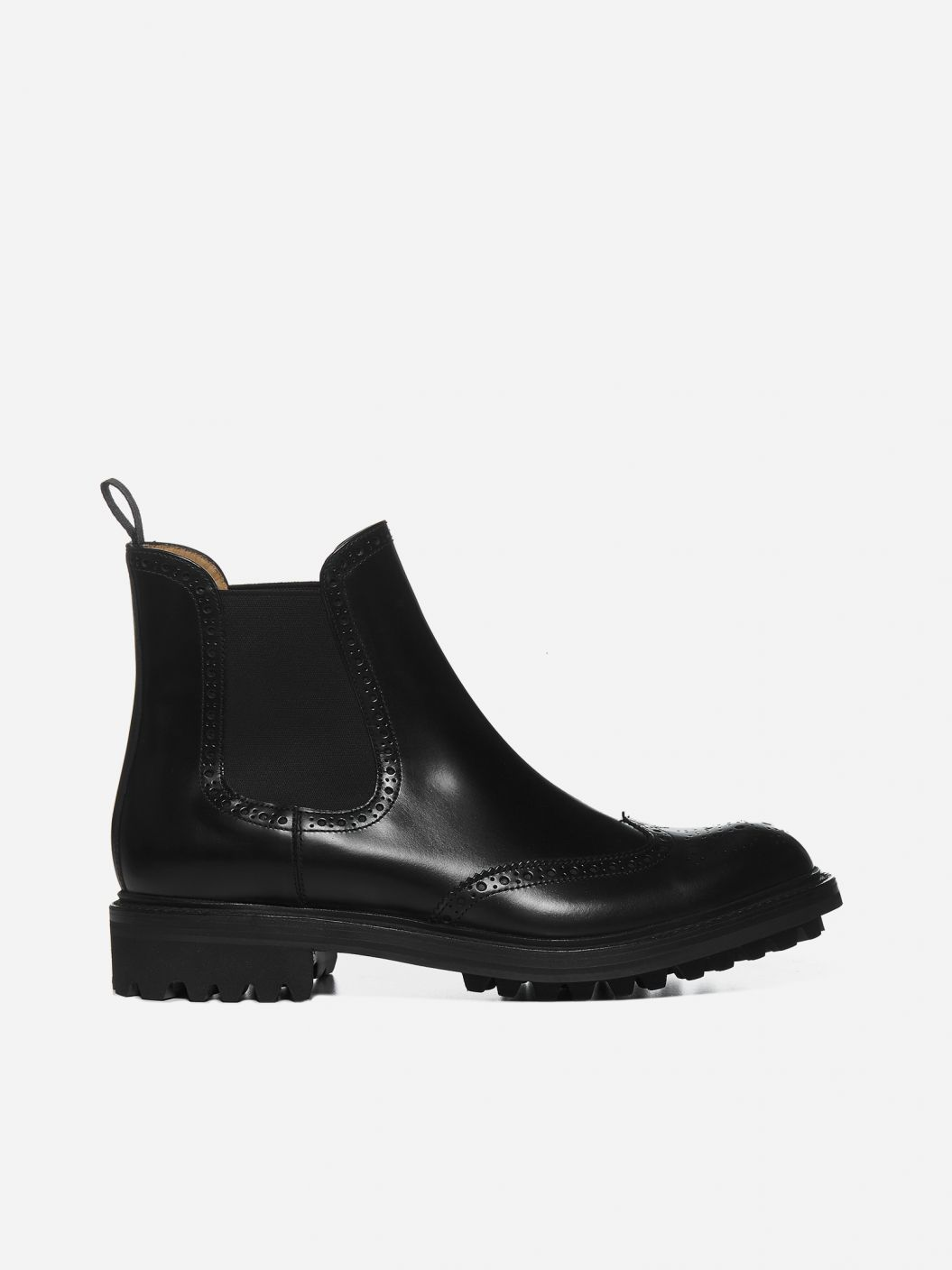 Aura leather Chelsea boots