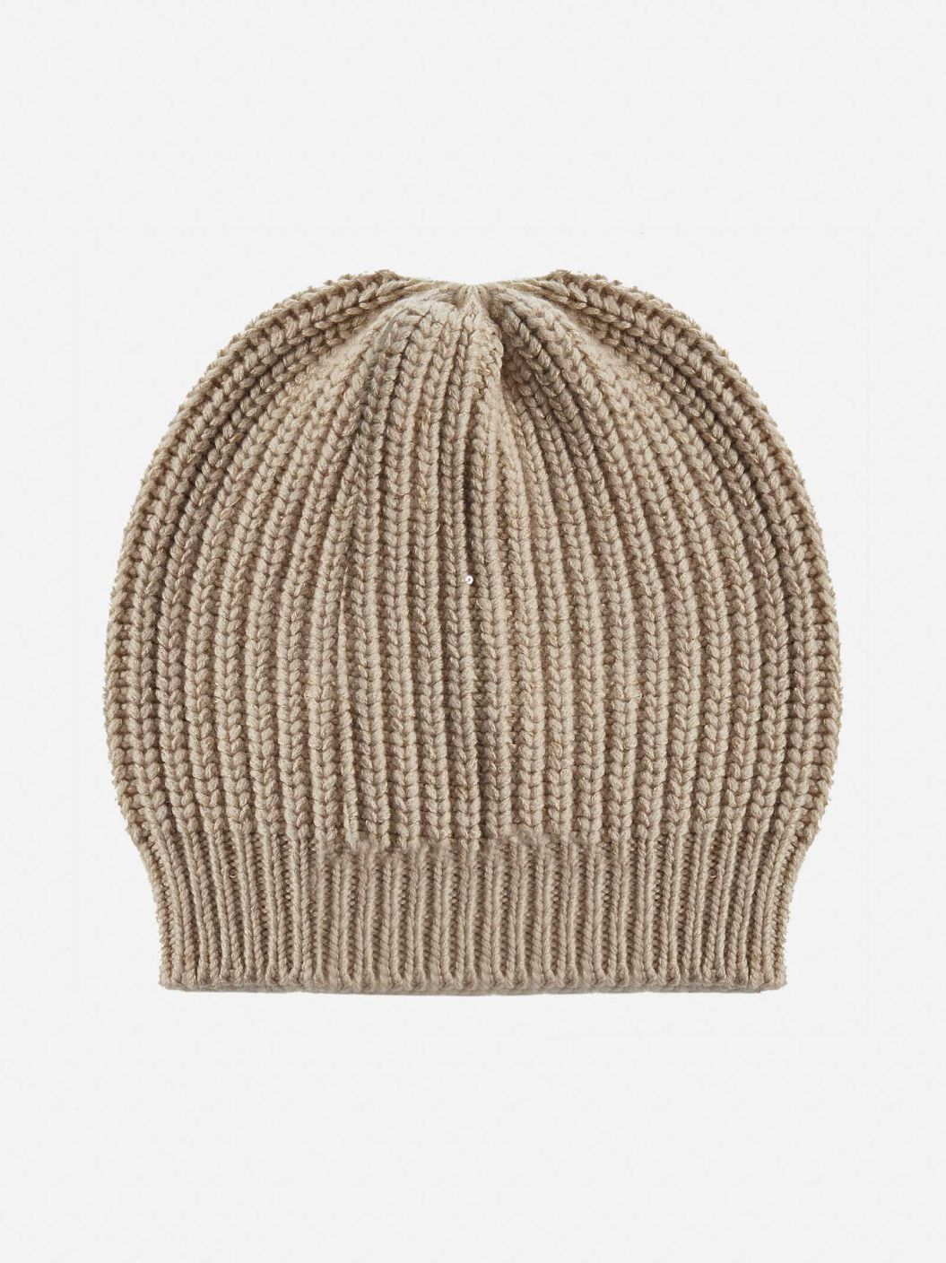 Sequin-embellished cashmere and silk beanie
