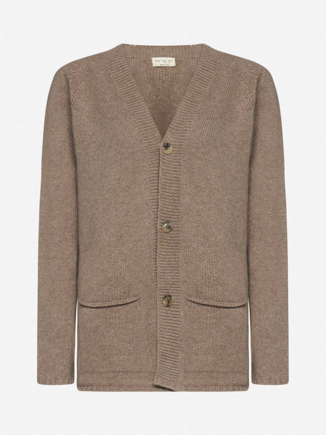 Cashmere and wool cardigan