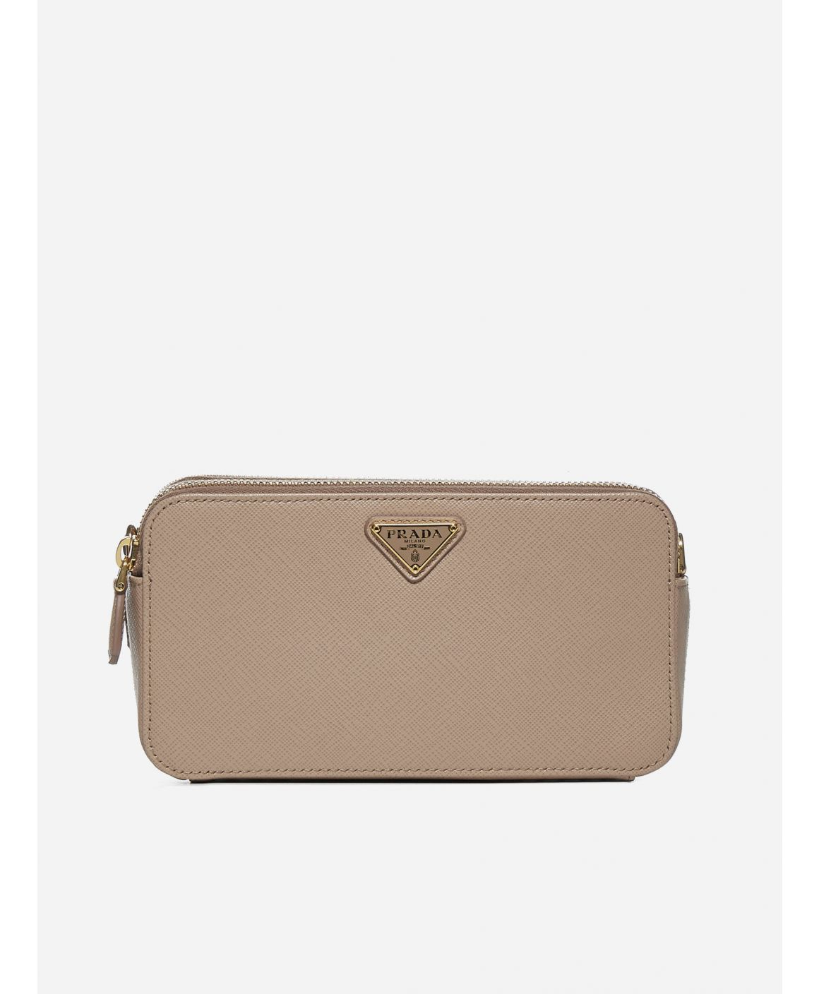 Saffiano leather mini shoulder bag