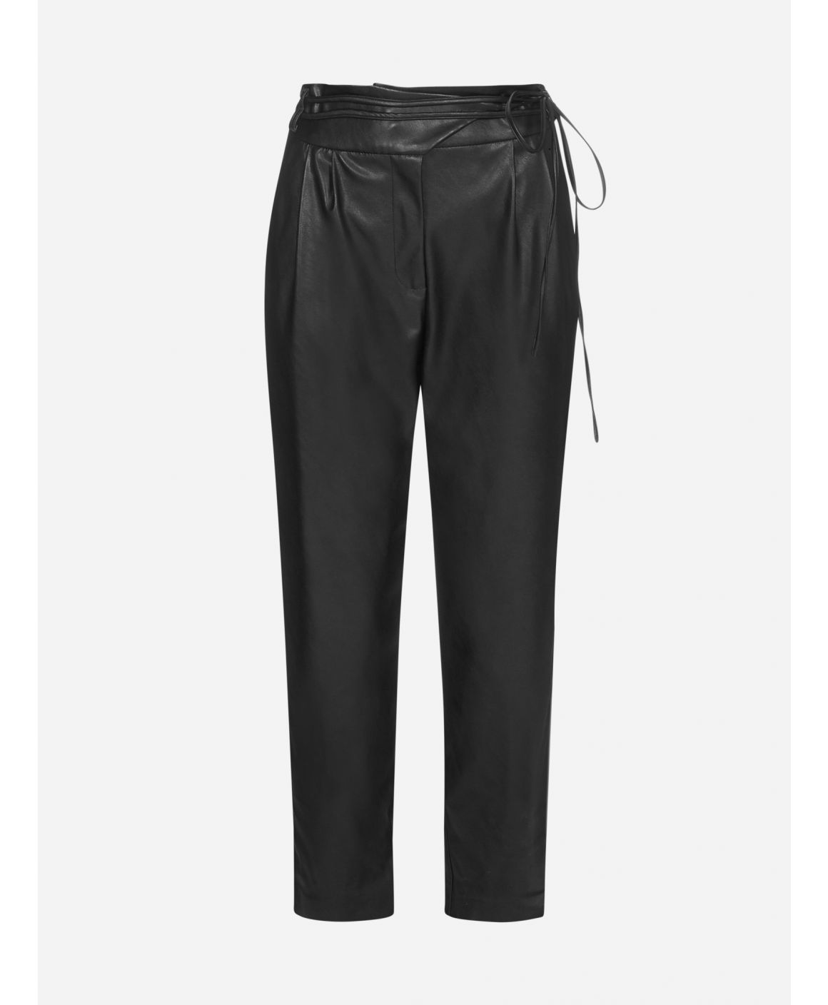 Rapito faux leather trousers