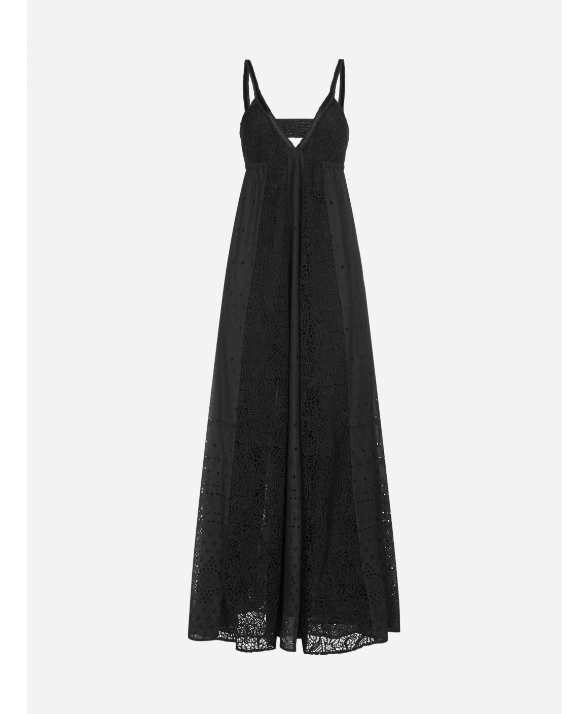Naturale broderie anglaise maxi dress