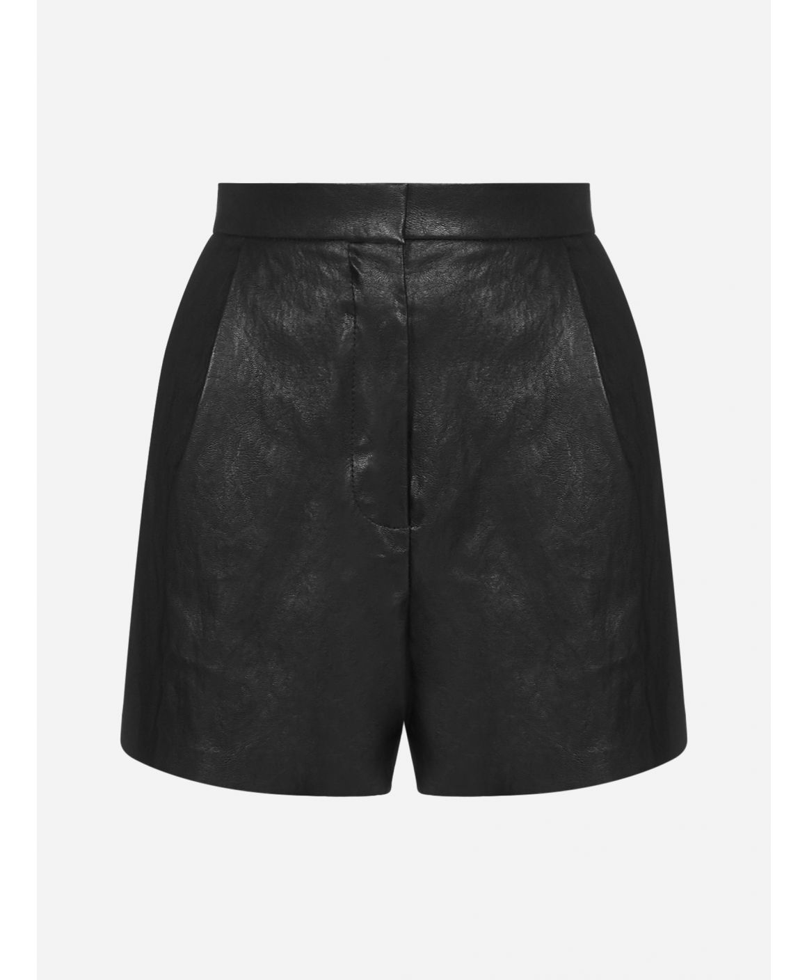 Puro faux leather trousers
