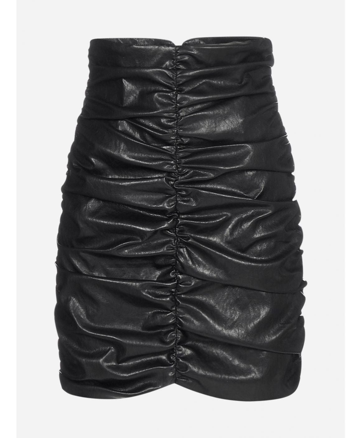 The Vertigo faux leather skirt