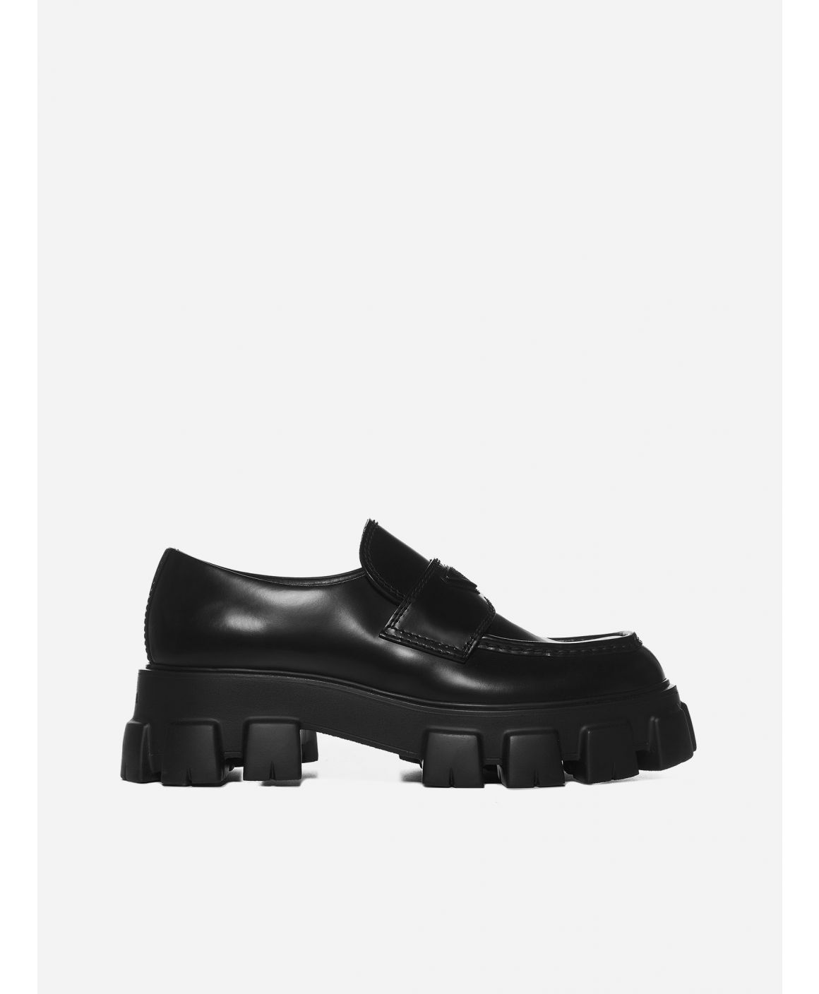 Monolith leather loafers