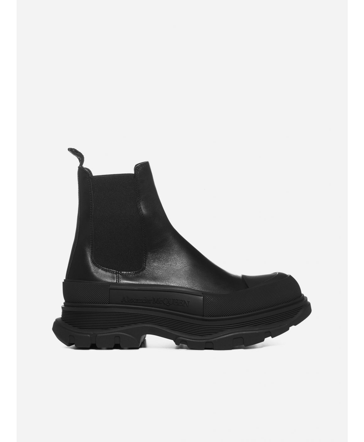 Tread leather Chelsea boots