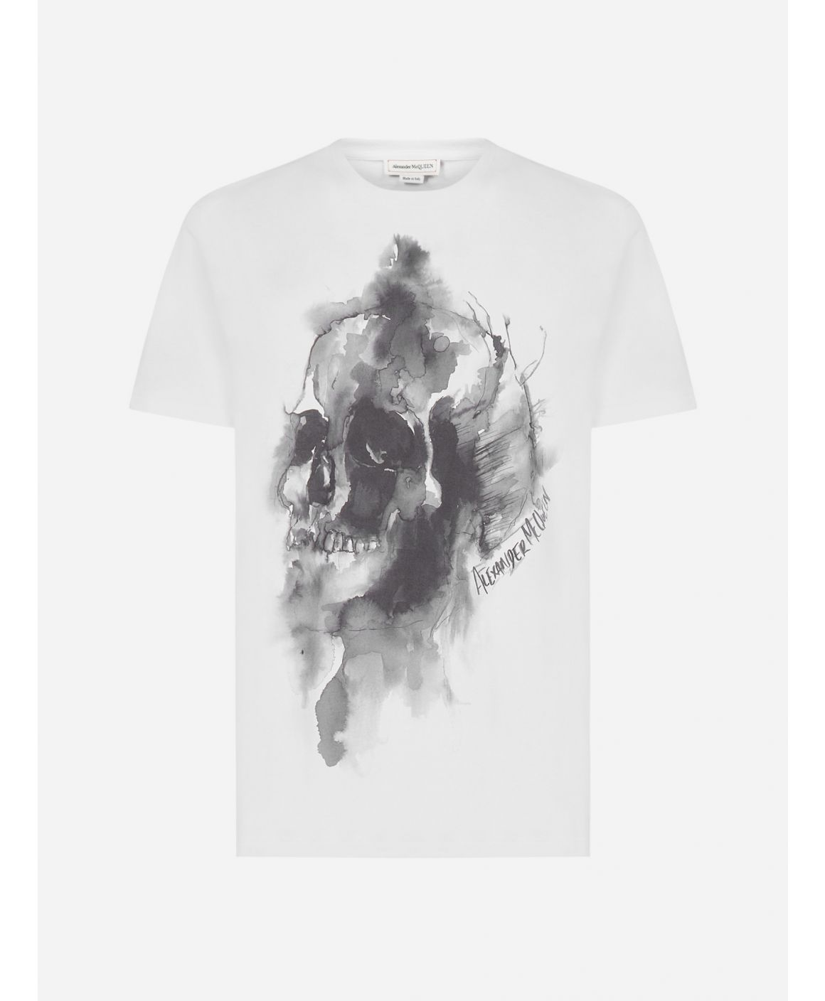 Skull cotton t-shirt