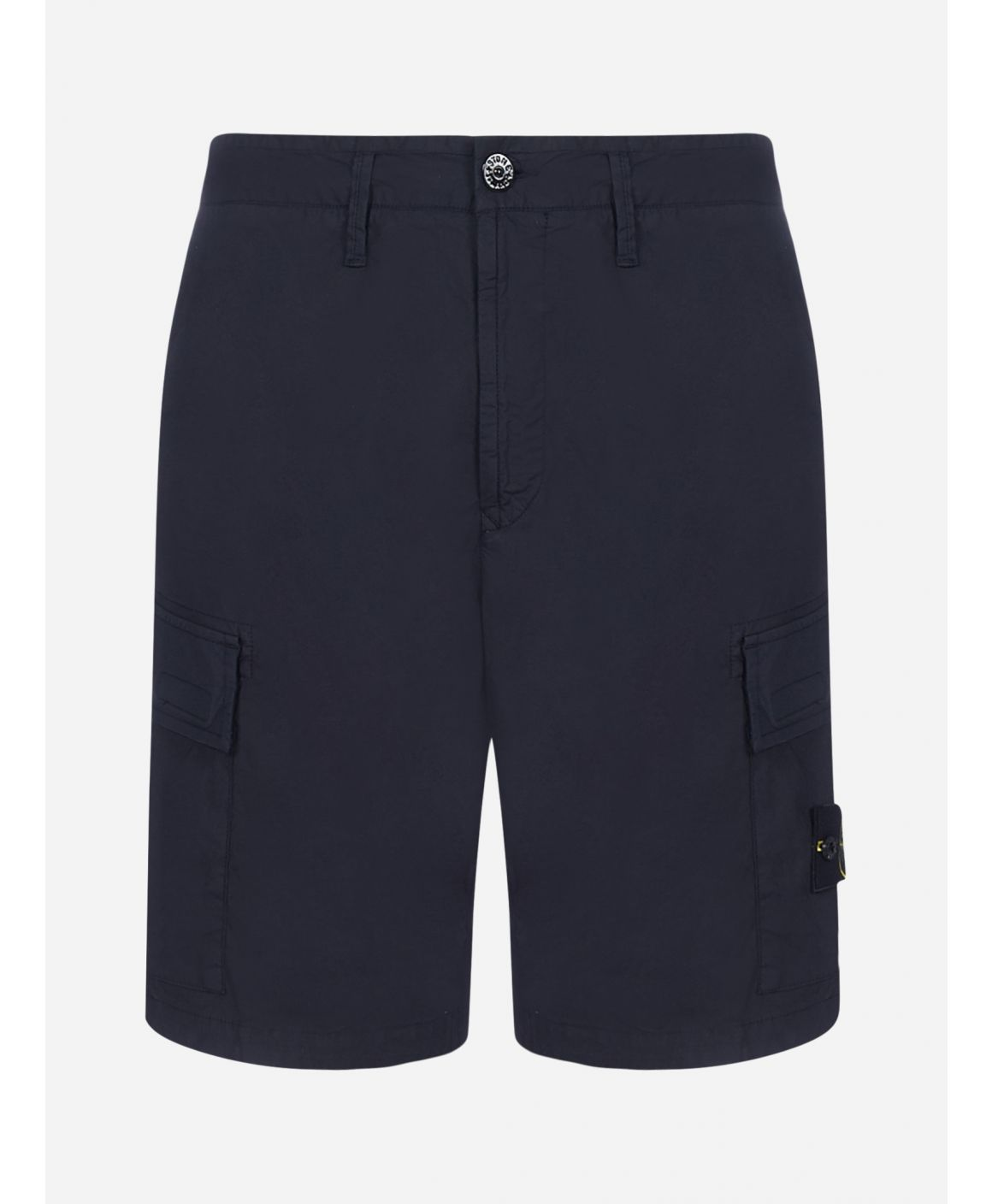 Stretch cotton cargo shorts