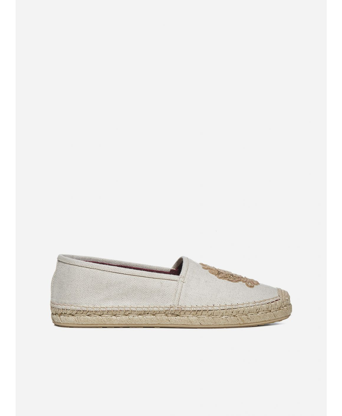 Logo-patch canvas espadrilles