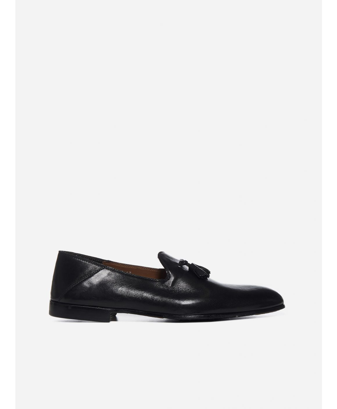 Tessel leather loafers
