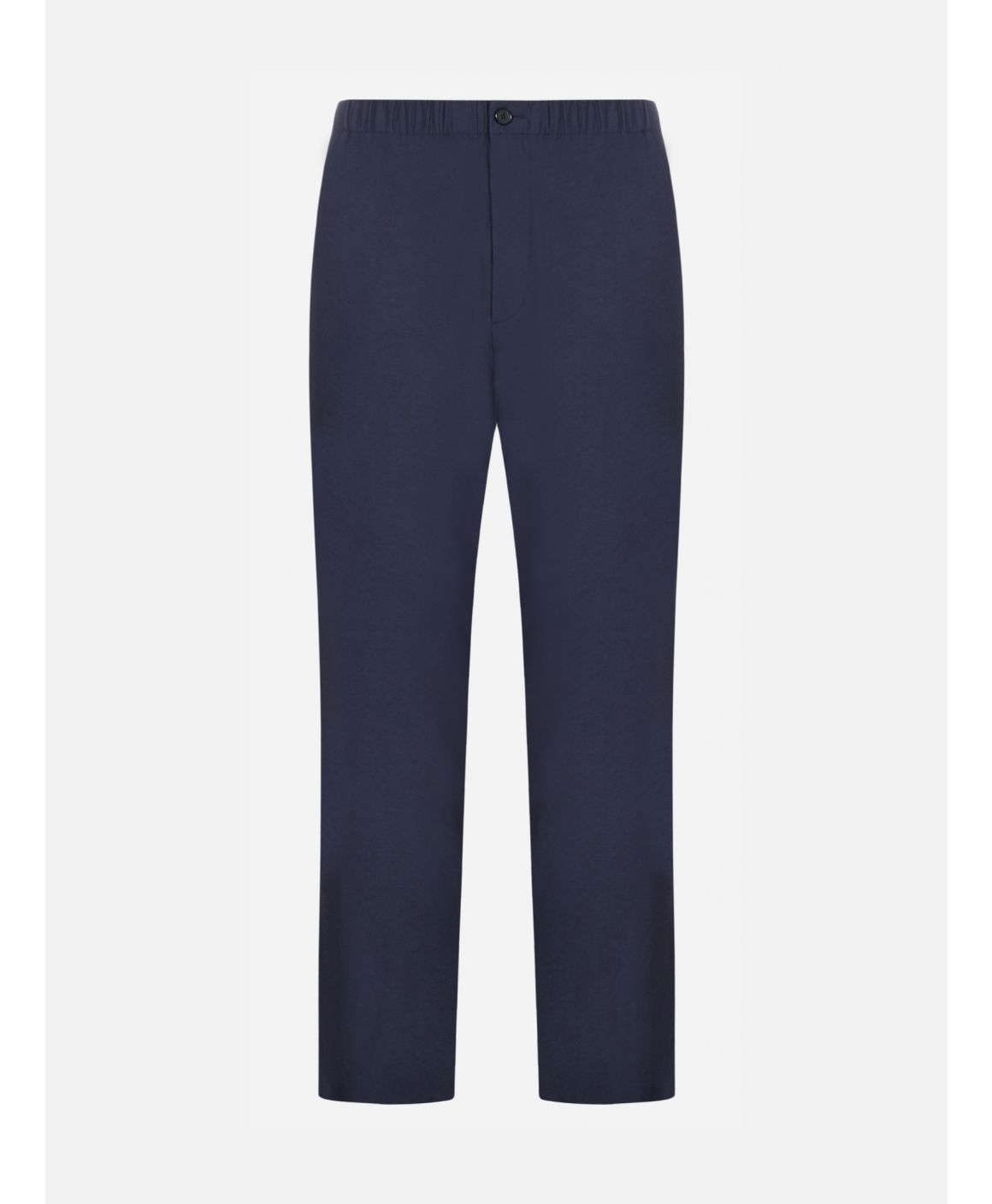 Cotton and triacetate trousers