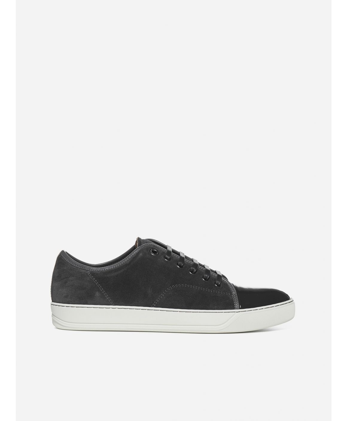DBBI Suede and patent leather sneakers