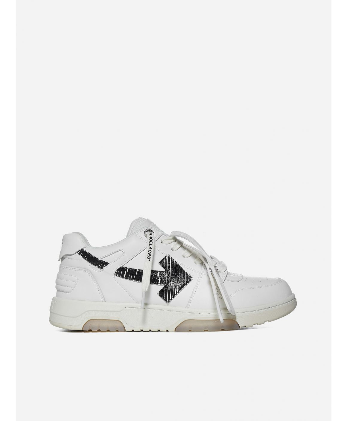 "Out Of Office ""ooo"" leather sneakers"