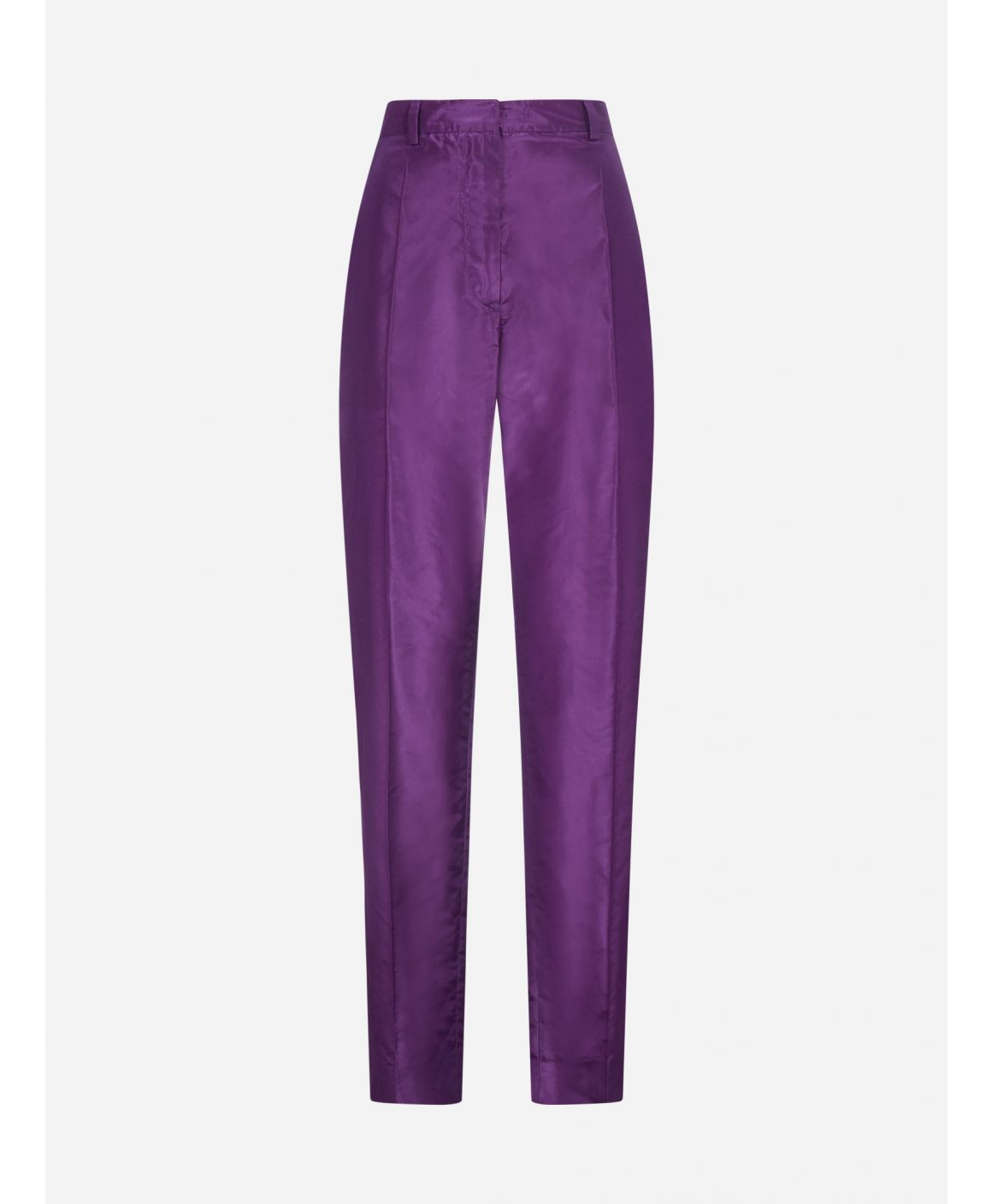 Silk trousers