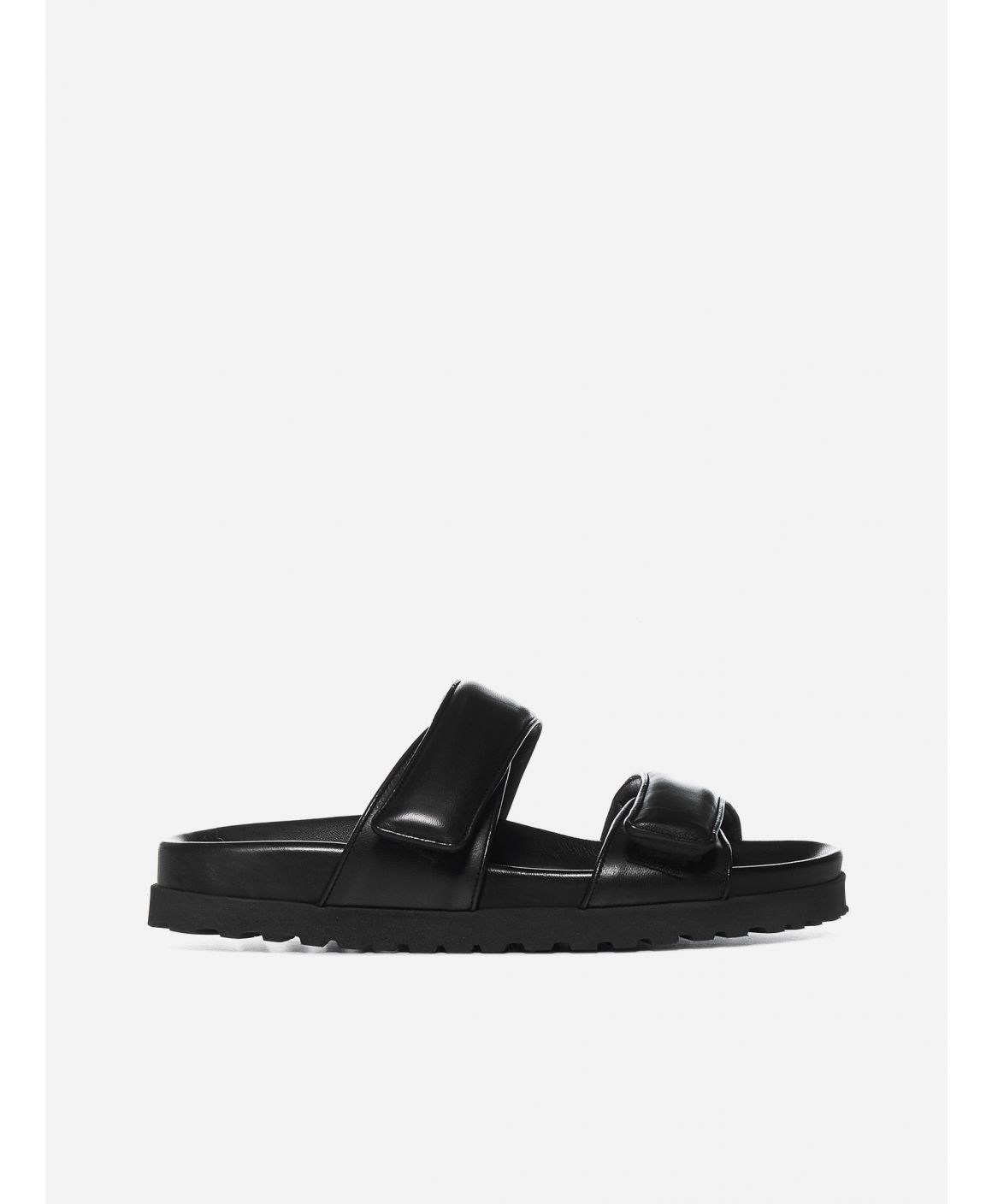 Perni 11 leather platform sandals