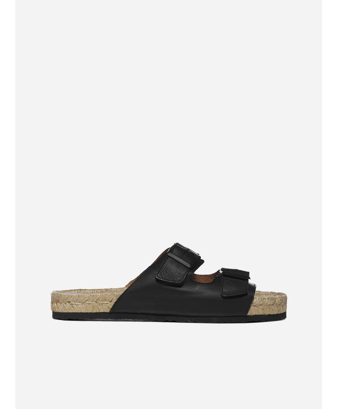Hamptons Nordic leather sandals