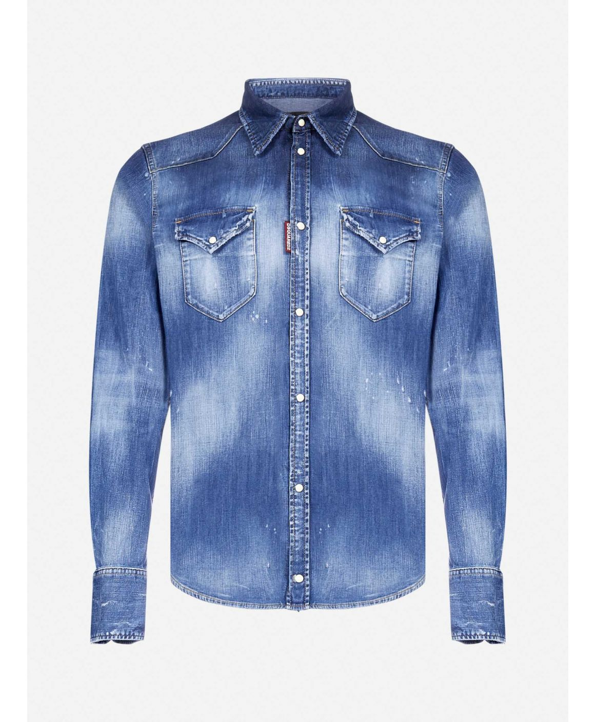 Dean stretch denim shirt